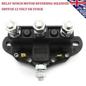 Relay Winch Motor Reversing Solenoid Switch 12 Volt Fits for ATV UTV MOTOR UK