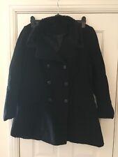 New Look Black Ladies Coat Size 16