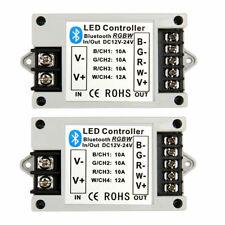SUPERNIGHT® 2X Bluetooth IOS APP Controller Remote for RGB/RGBW LED Strip Light