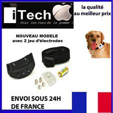 COLLIER ANTI ABOIEMENT electrique dressage pour chien ~NEUF~ SUIVI OFFERT