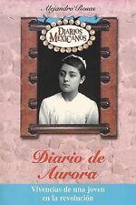 99 CENT AUDIOBOOK Diario de Aurora by Alejandro Rosas (4 CD's)