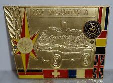 Ältere Auto Plakette ADAC Intercrocom XI - 1981