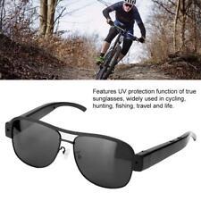 1080P HD Brille Sonnenbrille Verstecke Spion Kamera Videokamera Schwarz Neu
