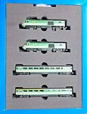 Dapol 2D-019-011, N gauge, HST 4 cars Book Set, FGW Fag Packet livery