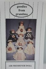 Goodies from Grandma Air Freshner Doll Craft Pattern