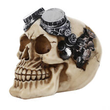 Office Decoration Skeleton Human Head Skull Halloween Statue Resin Model Fossil