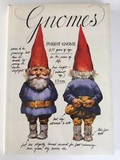 1976 Rien Poortvliet Gnomes Book Hardcover Harry N Abrams Art Book
