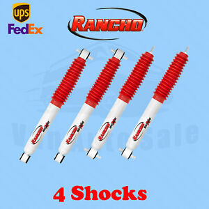 Rancho Kit 4 Front & Rear RS5000X shocks for Ford Explorer Sport Trac 01-05