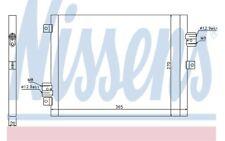 NISSENS Condensador, aire acondicionado FORD TRANSIT PORSCHE BOXSTER 911 940190