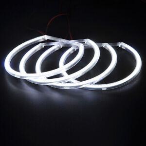 Angel Eyes Light For BMW E36 E38 E39 E46 White Car Headlight LED Halo Lamp AI