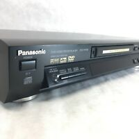 PANASONIC DVD-RP56 DVD CD Player Progressive Scan Dolby Surround Sound Vintage
