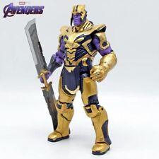 "8"" Action Marvel Legends Thanos Figure Avengers: Endgame Armored Thanos Toy"