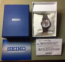 Seiko 7N42 Two Tone Mens watch, Water Resistant 100m/10 Bar, Runs Great.
