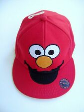 SESAME STREET RED ELMO FLEXFIT FITTED HAT CAP ADULT ~ NEW