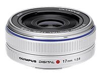 Olympus M.Zuiko Digital 17mm f/2.8 Lens Micro Four Thirds Lens Silver NEW Japan!