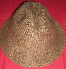 Kate's Boutique Unique Brown Wool Blend Hat Size Medium Ships Free in the USA