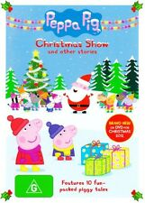 Peppa Pig - The Christmas Show (DVD, 2012) NEW R4