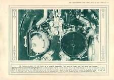 1915 Torpedo Chamber In A German Submarine