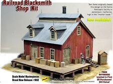Railroad Blacksmith Shop Kit Thomas Yorke/Scale Model Masterpieces On3/On30/1:48