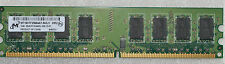 2 GB DDR 2 MICRON PC2-6400U 666-13-E1 1X2GB NON ECC DDR2-800 MHZ RAM 240 PIN