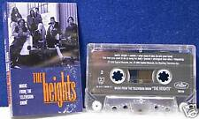 The Heights TV soundtrack 14 track CASSETTE TAPE paper insert is water damaged