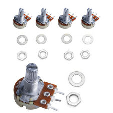 5pcs B10K 10Kohm Linear Taper Rotary Potentiometer Panel Pot