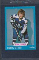 1973/74 Topps #132 Darryl Sittler Maple Leafs NM *360