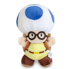 Little Buddy Super Mario Bros. Toadsworth Toad Soft Plush Doll Toy 8 inch Gift