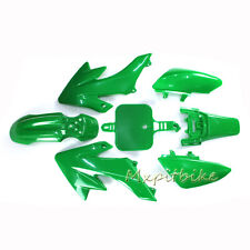 CRF50 Green Fairing Plastic Fender Kit For SSR Honda XR50 50cc-160cc Dirt Bike