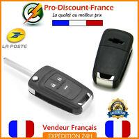 Coque Télécommande Pour Chevrolet Clé 3 Boutons Clé Case Télécommande Plip HU100