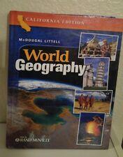 McDougal Littell World Geography 10th grade 10 Homeschool ATLAS RAND MCNALLY VYG