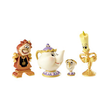 Jim Shore Disney Traditions Enchanted Objects Set Beauty and the Beast 4060076