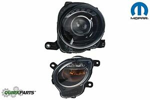 2012-2017 FIAT 500 RIGHT SIDE HEADLIGHT & DIRECTIONAL LIGHT LAMP OEM MOPAR FIAT