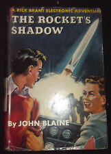 Vtg 1947 ROCKET'S SHADOW Rick Brant Electronic Adventure~John Blaine HC/DJ Book