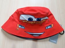 Disney Cars Lightning McQueen Storm Reversible Sun Hat Bucket hat BNWT Age  4 6 8ea5b11976c