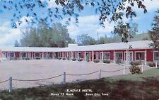 Sioux City Iowa~Elmdale Motel~Free Radio (I Want One!) ~1950s Kauffmann