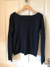 Women's Vero Moda Navy Blue Jumper, With Popper Back, Size L / Large