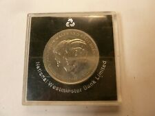 1981 Charles & Diana Royal Wedding Commemorative Crown Coin - in original case