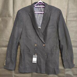 Daniel Hechter Mens Suit Blazer Black Size 104 NWT