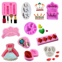Silicone Cake Mold DIY Crown Lips Mould Handmade Cake Decor Sugar Craft Mold