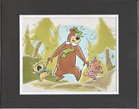 Yogi Bear Joe Barbera Personal Collection Takamoto Ito Scene Hanna Barbera