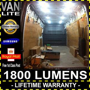 Renault Master MK2 98-10 Super Bright Van Back Interior Load LED Light Kit