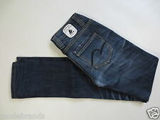 JEANS STRETCH One green elephant stretchjeans ROM SKINNY S TG. 36 blue used/a202
