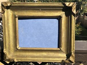 "Antique American Art""N""  Redwood Picture Frame, Circa 1900"