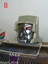 M3G5 Custom Anime Accurate Face Replacement Kit for G1 Megatron Head Upgrade