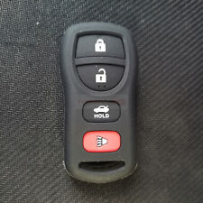 Fit Nissan Xterra Altima 4 Buttons Remote Key Fob Silicone Skin Case Cover Black