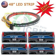 "48"" LIGHT BAR LED TAIL GATE BAR TRUCK PICK UP Running/Brake/Reverse/Signal"