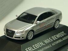 Herpa Audi A8 IAA 2009, argent - 293099 PC - 1/87