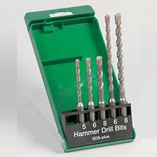 Hitachi 5pcs SDS Plus Hammer Drill Bit Set fits dewalt makita bosch machines