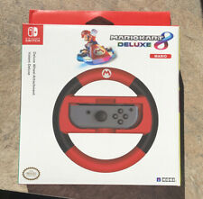 Nintendo Switch Hori Mario Kart 8 Deluxe Racing Wheel - Mario New